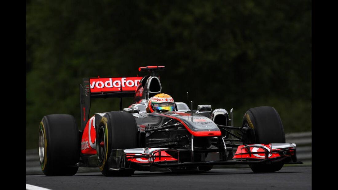 Lewis Hamilton - GP Ungarn - Formel 1 - 29.7.2011