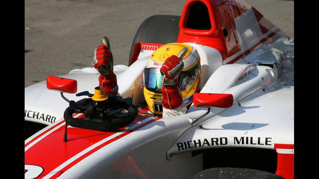 Lewis Hamilton GP2 2006