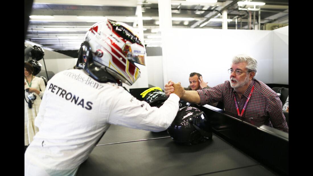 Lewis Hamilton & George Lucas