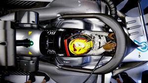 Lewis Hamilton - Halo - GP Belgien 2017