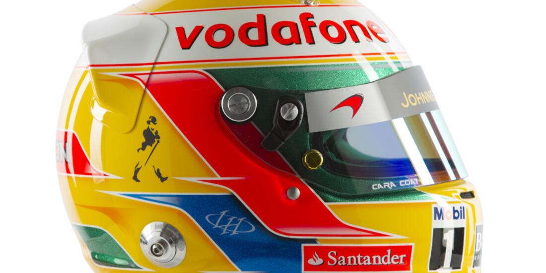 Lewis Hamilton Helm 2012