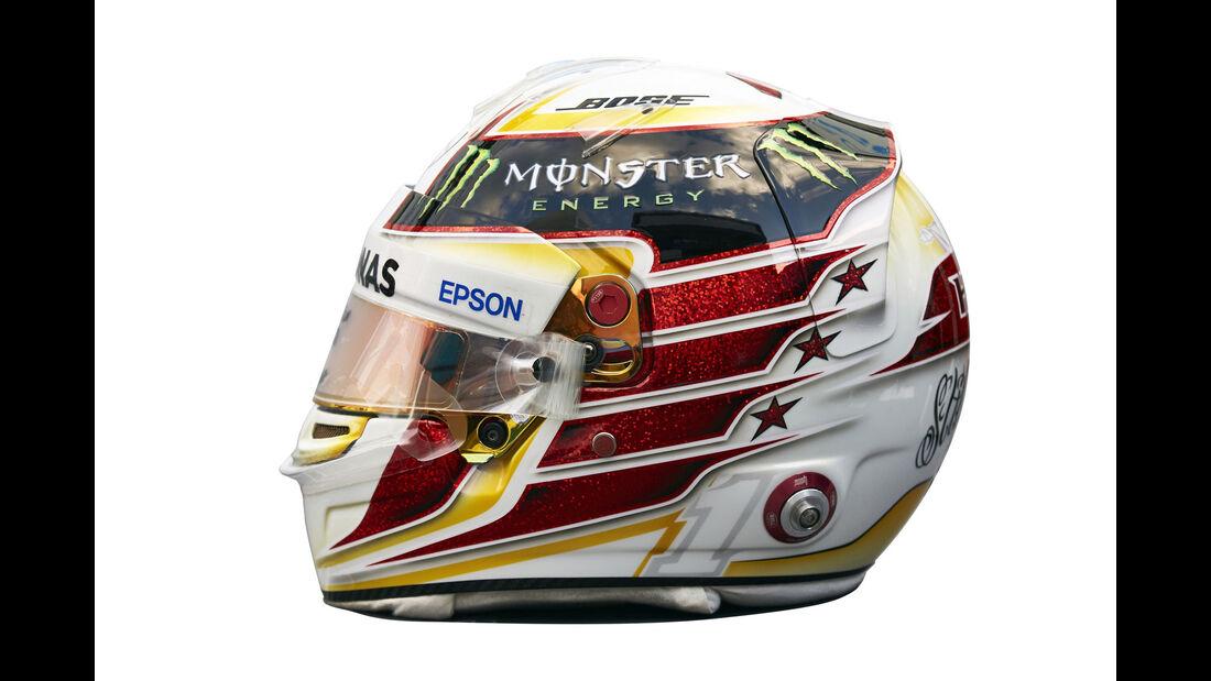 Lewis Hamilton - Helm - 2016