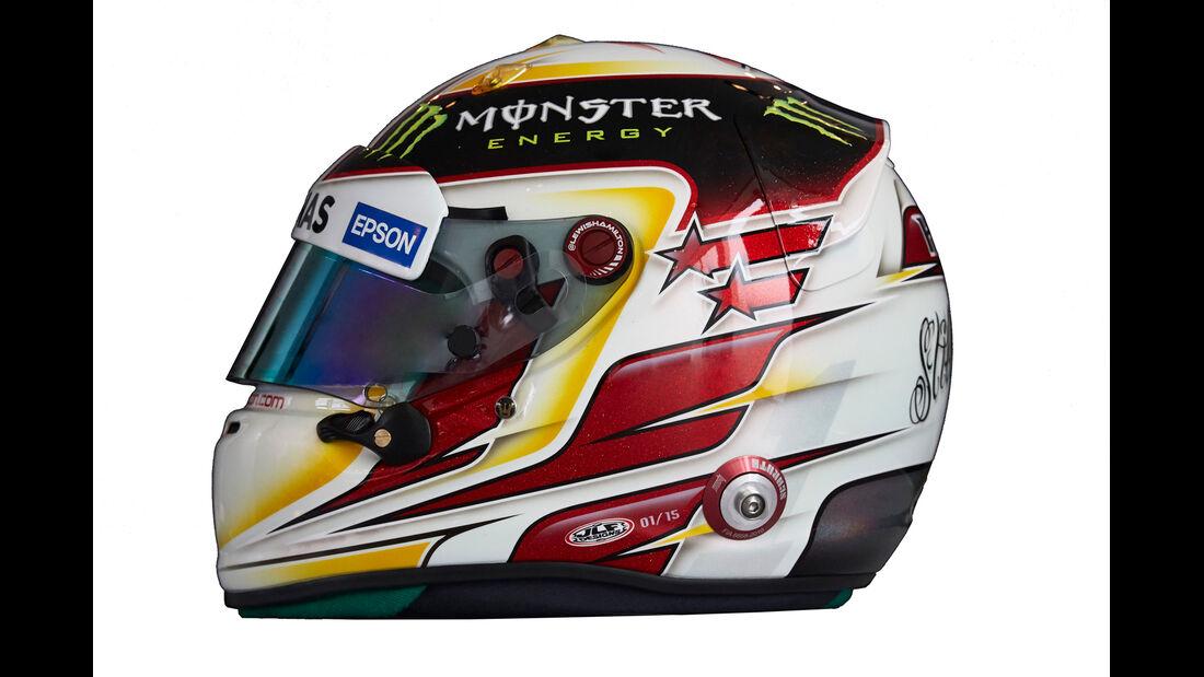 Lewis Hamilton - Helm  - Formel 1 - 2015
