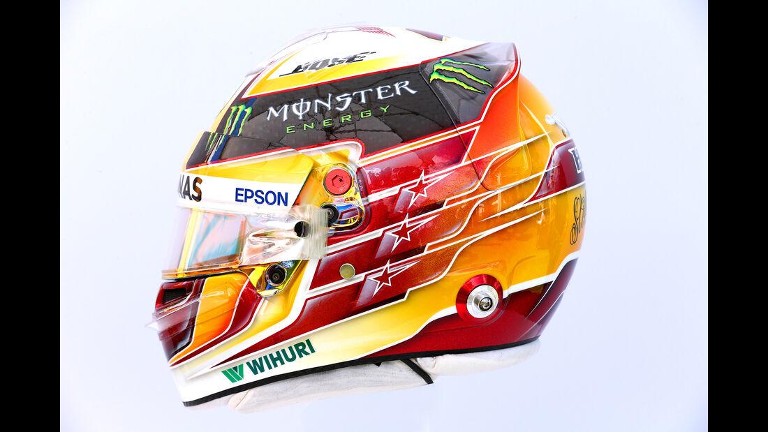 Lewis Hamilton - Helm - Formel 1 - 2017