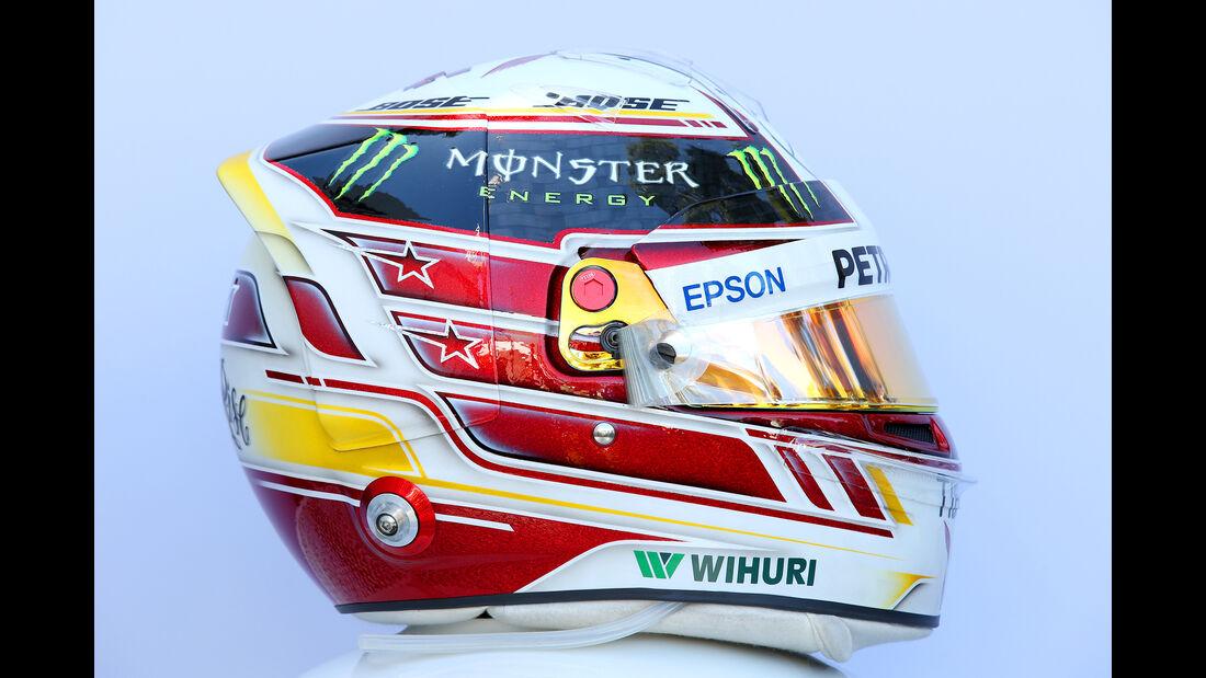 Lewis Hamilton - Helm - Formel 1 - 2018