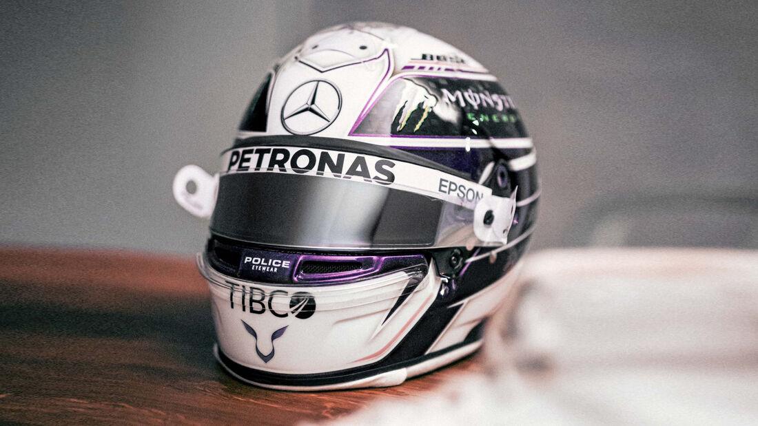 Lewis Hamilton - Helm - Mercedes - 2020