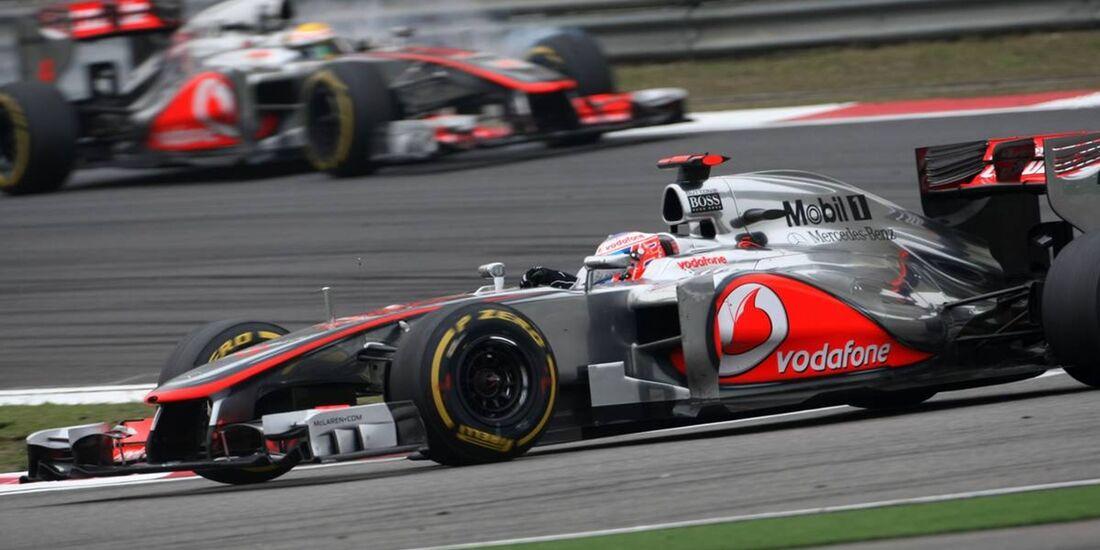 Lewis Hamilton - Jenson Button  - Formel 1 - GP China - 15. April 2012