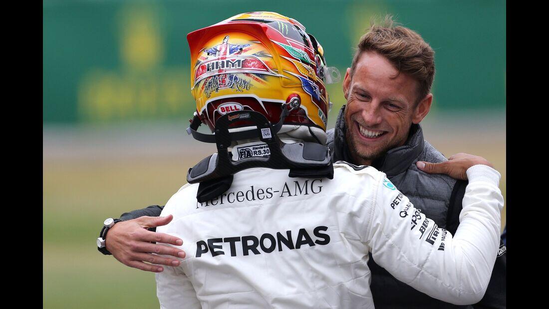 Lewis Hamilton - Jenson Button - Formel 1 - GP England - 15. Juli 2017