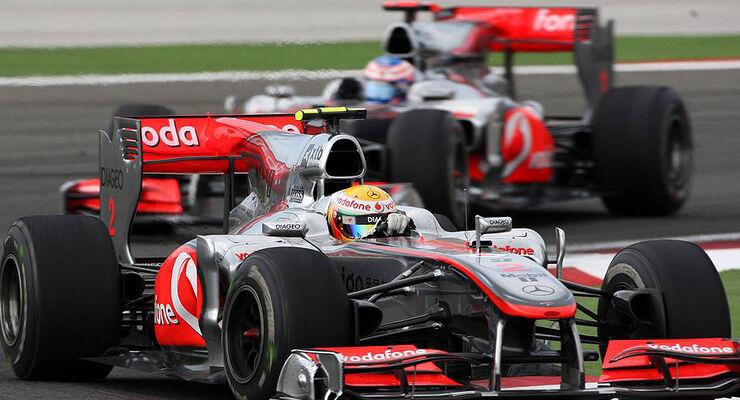 Lewis Hamilton Jenson Button