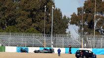 Lewis Hamilton - Jerez Test - Crashs 2014