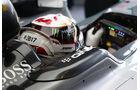 Lewis Hamilton - Jules Bianchi-Aufkleber - GP Ungarn 2015
