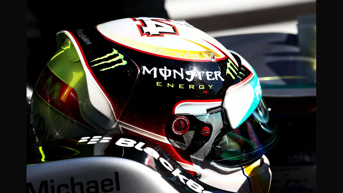 Lewis Hamilton - Jules Bianchi-Tribute - GP Russland 2014