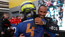 Lewis Hamilton - Lando Norris - GP Russland 2021 - Sotschi