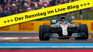 Lewis Hamilton - Live-Blog - Teaserbild - GP Frankreich 2018