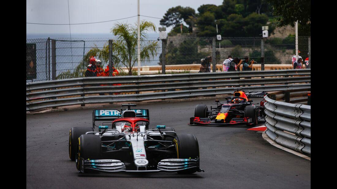 Lewis Hamilton - Max Verstappen - Formel 1 - GP Monaco - 26. Mai 2019