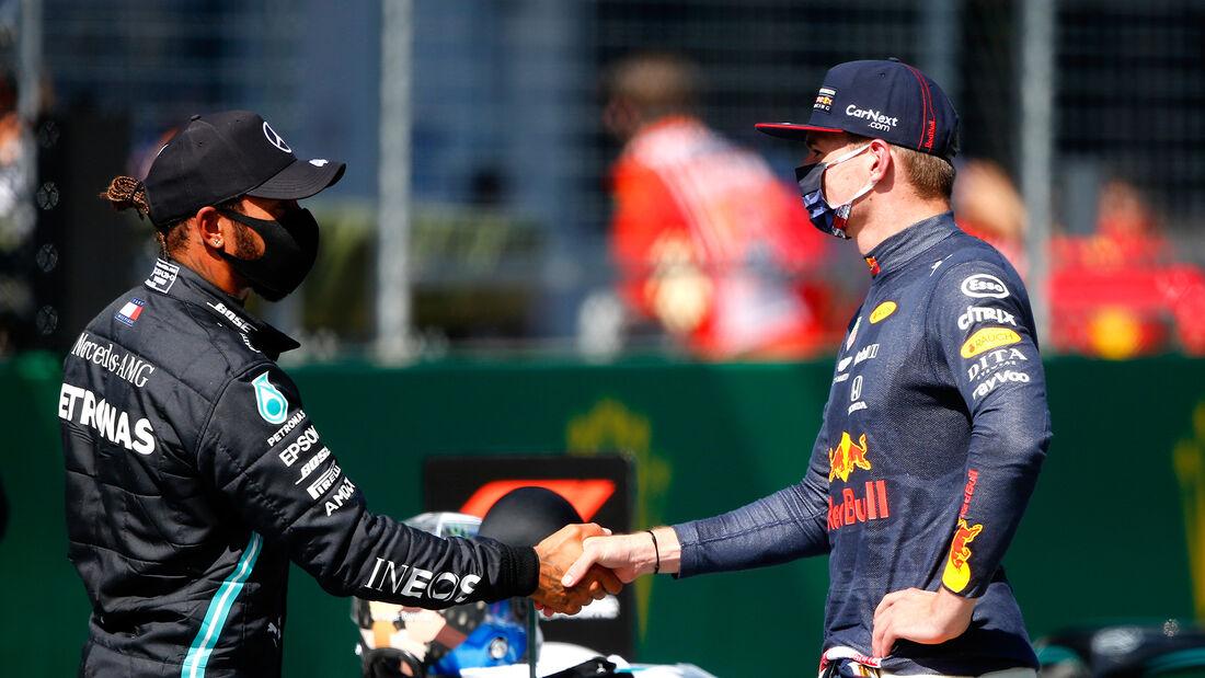 Lewis Hamilton & Max Verstappen - Formel 1 - GP Österreich - 4. Juli 2020