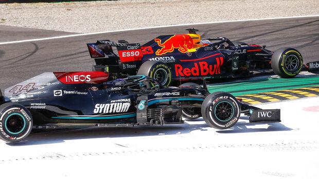 Lewis Hamilton - Max Verstappen - GP Italien 2021 - Monza