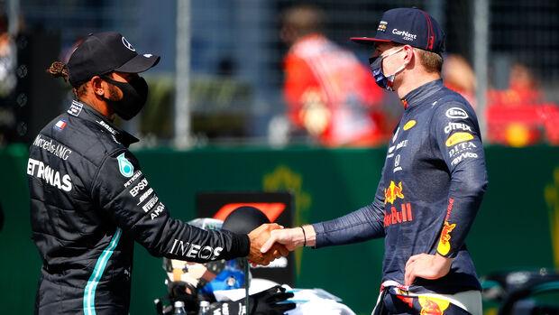 Lewis Hamilton & Max Verstappen - GP Österreich 2020