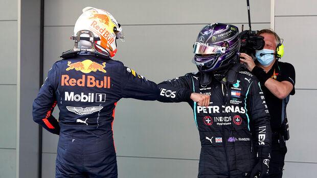 Lewis Hamilton - Max Verstappen - GP Spanien 2020 - Barcelona