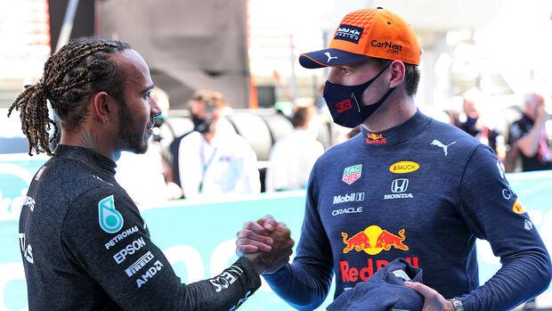 Lewis Hamilton - Max Verstappen - GP Spanien 2021