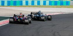 Lewis Hamilton - Max Verstappen - GP Ungarn 2019 - Budapest