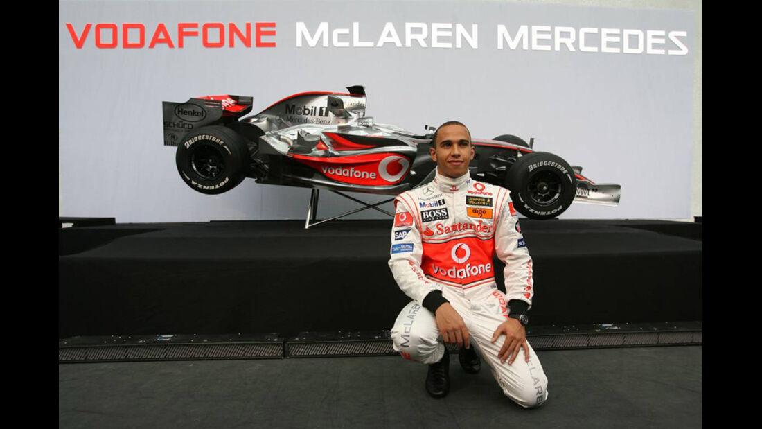 Lewis Hamilton McLaren 2007