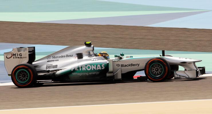 Lewis Hamilton - McLaren - Formel 1 - GP Bahrain - 19. April 2013