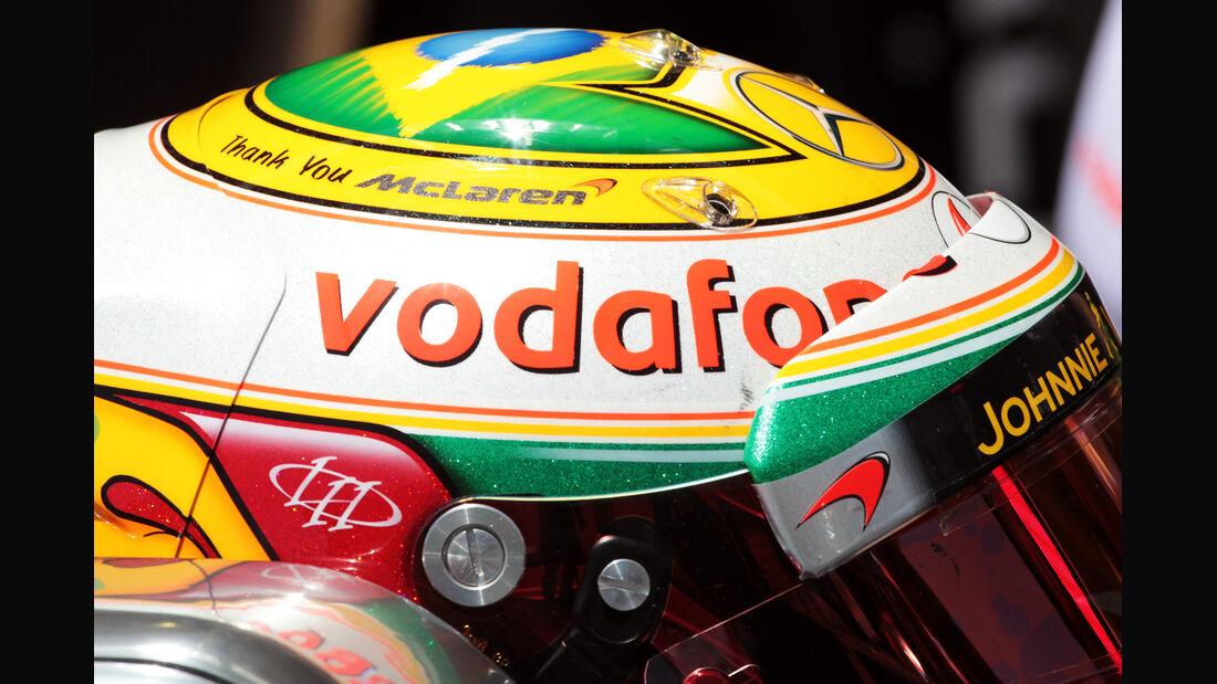 Lewis Hamilton - McLaren - Formel 1 - GP Brasilien - Sao Paulo - 23. November 2012