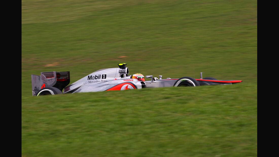Lewis Hamilton - McLaren - Formel 1 - GP Brasilien - Sao Paulo - 24. November 2012