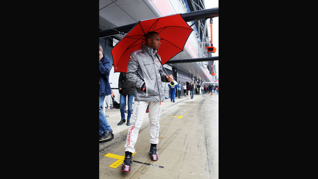 Lewis Hamilton - McLaren - Formel 1 - GP England - Silverstone - 6. Juli 2012