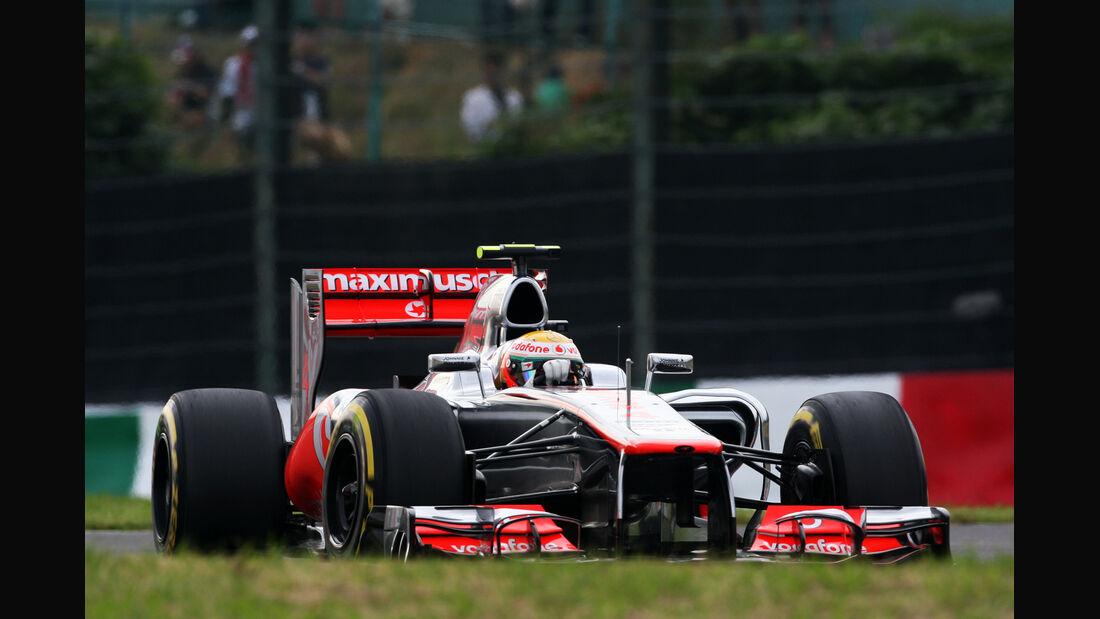 Lewis Hamilton - McLaren - Formel 1 - GP Japan - Suzuka - 6. Oktober 2012