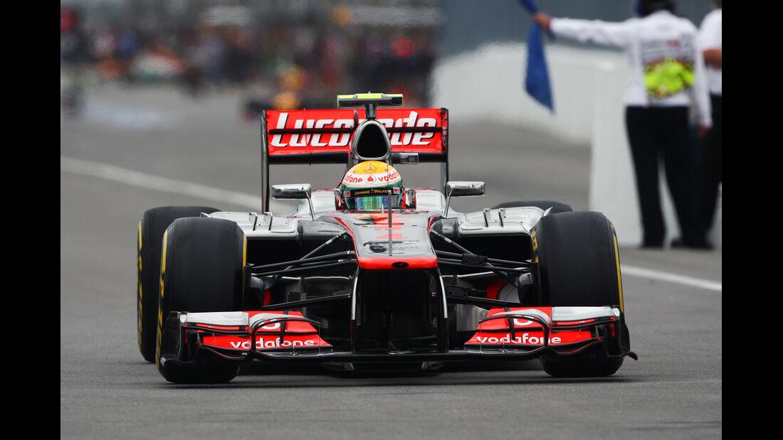 Lewis Hamilton - McLaren - Formel 1 - GP Kanada 2012 - 8. Juni 2012