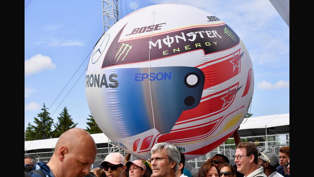 Lewis Hamilton - McLaren - Formel 1 - GP Kanada - Montreal - 7. Juni 2018