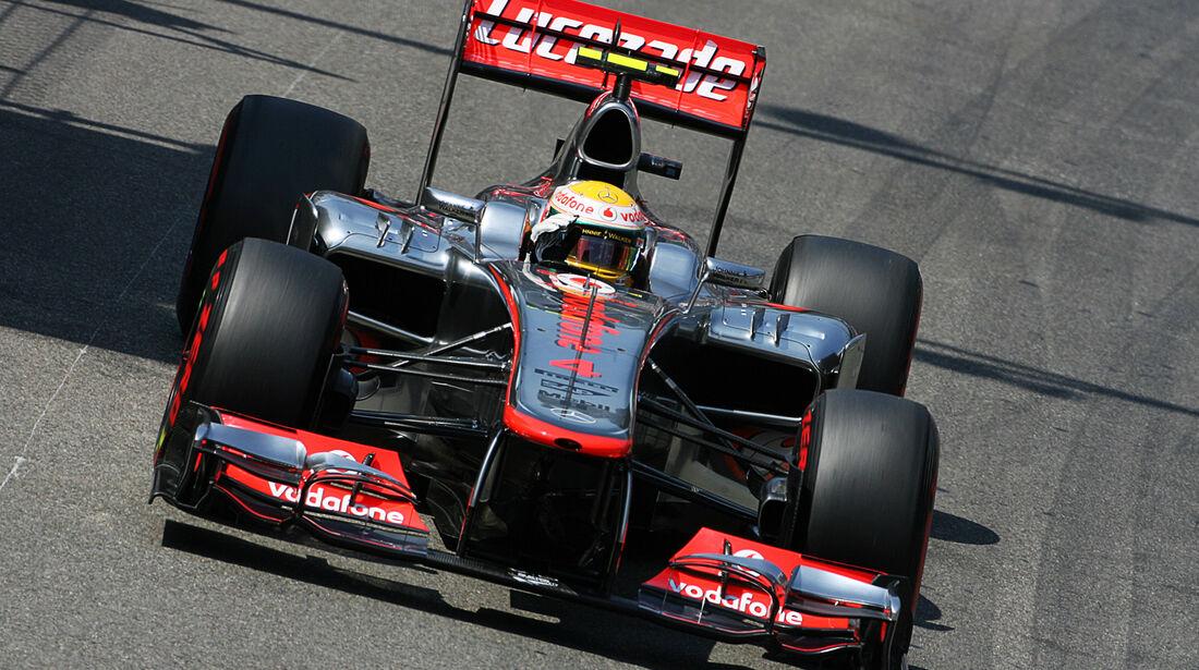 Lewis Hamilton - McLaren - Formel 1 - GP Monaco - 26. Mai 2012