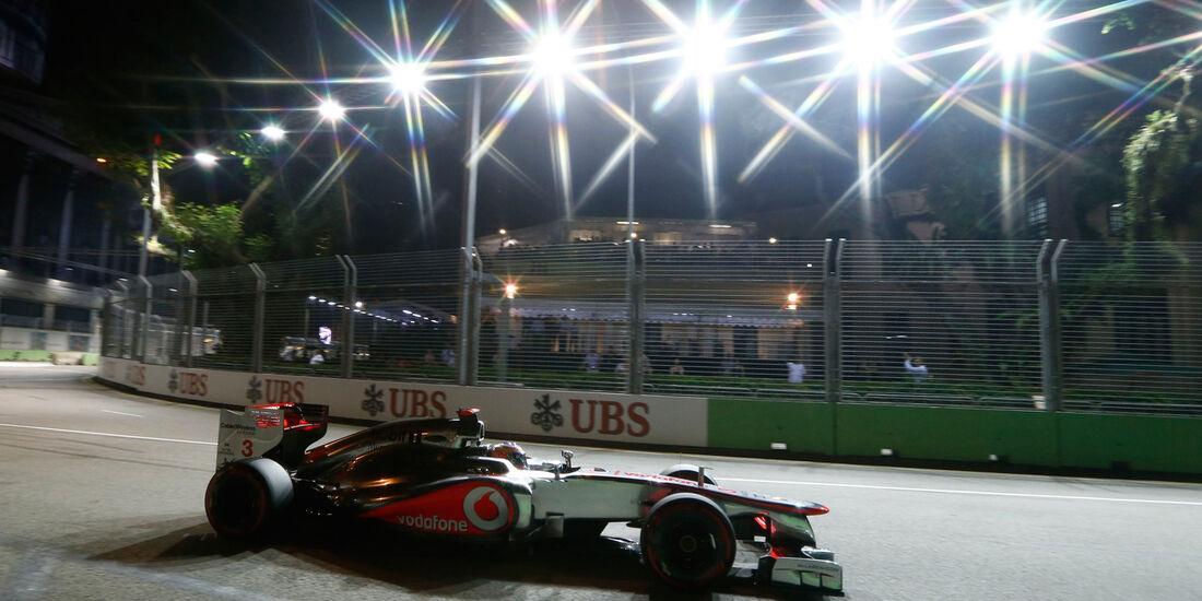 Lewis Hamilton - McLaren - Formel 1 - GP Singapur - 22. September 2012