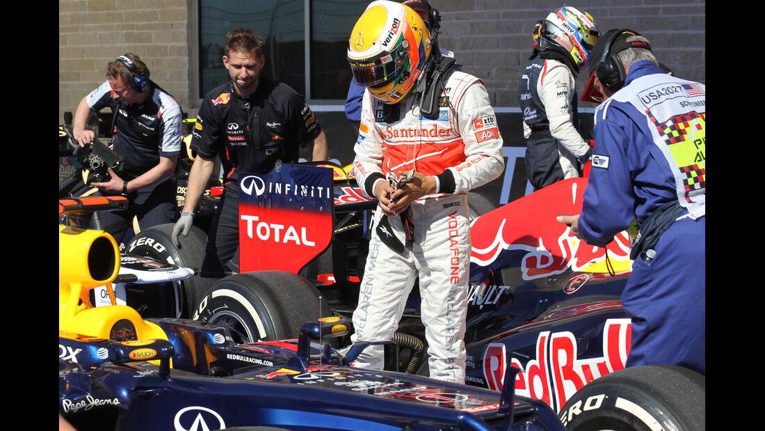 Lewis Hamilton - McLaren - Formel 1 - GP USA - Austin - 17. November 2012