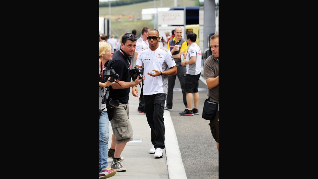 Lewis Hamilton - McLaren - Formel 1 - GP Ungarn - Budapest - 26. Juli 2012