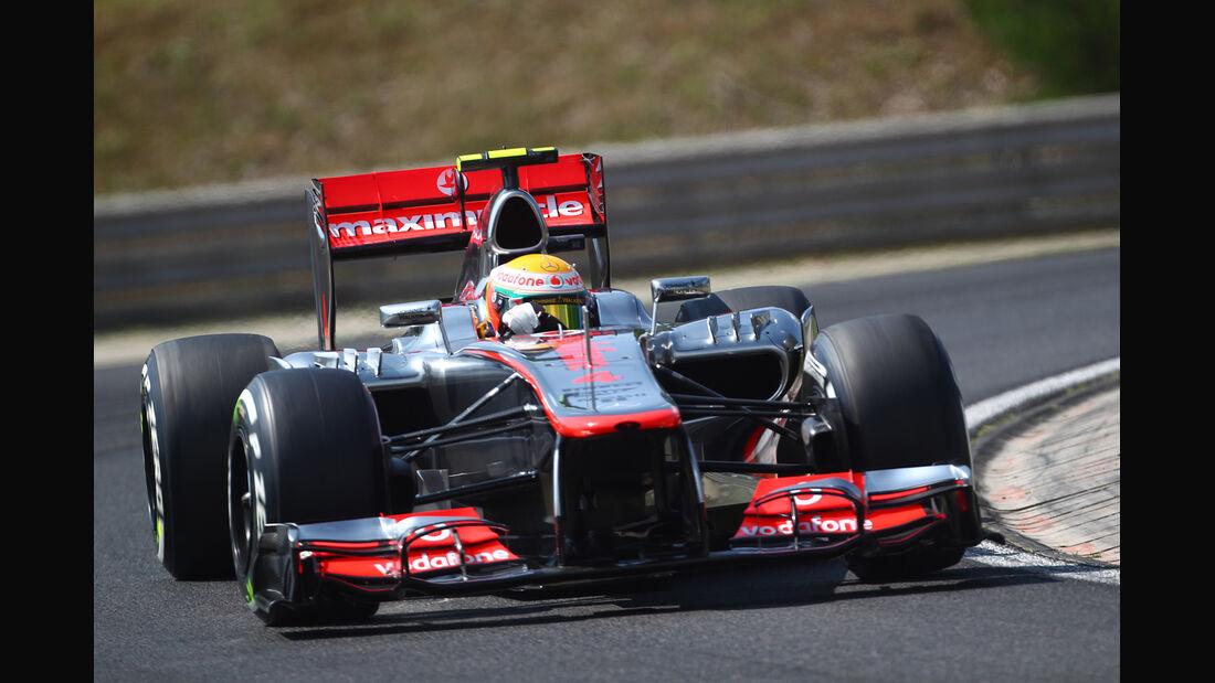 Lewis Hamilton - McLaren - Formel 1 - GP Ungarn - Budapest - 28. Juli 2012