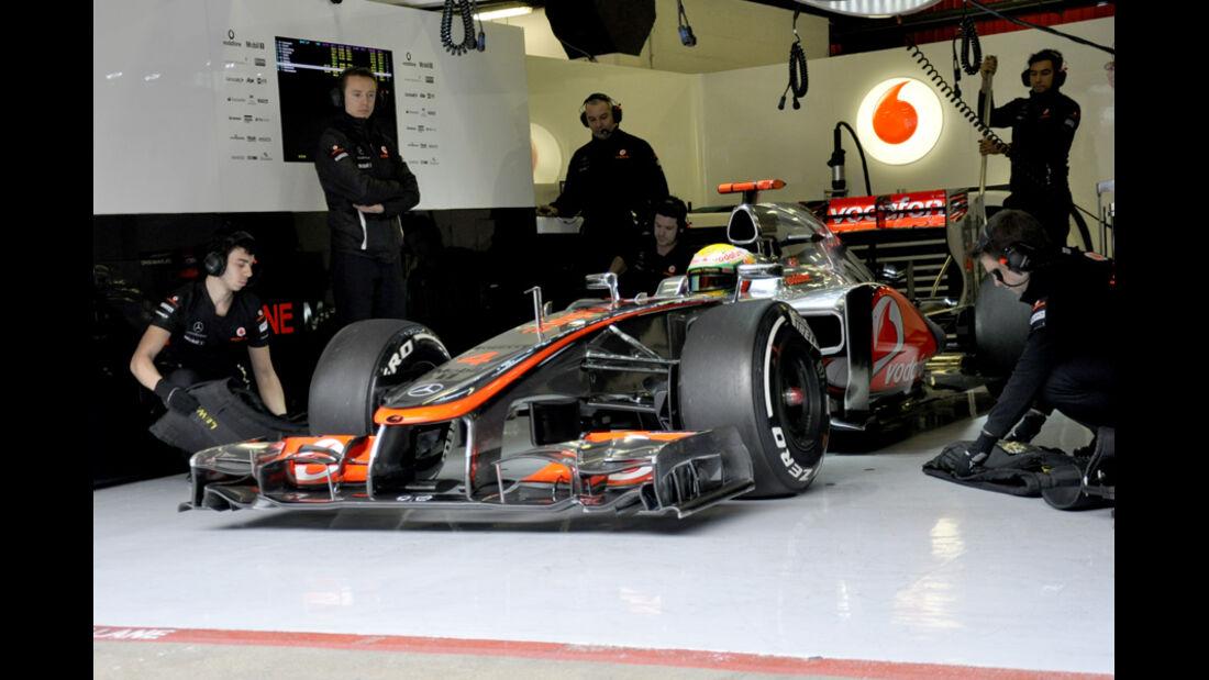 Lewis Hamilton - McLaren - Formel 1-Test Barcelona - 4. März 2012