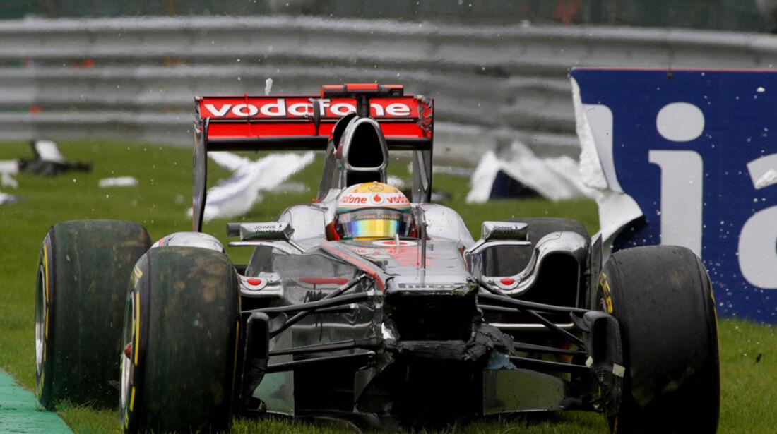 Lewis Hamilton McLaren GP Belgien 2011