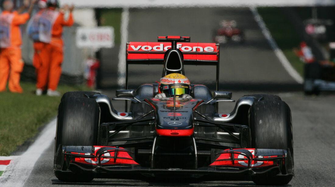 Lewis Hamilton McLaren GP Italien 2011
