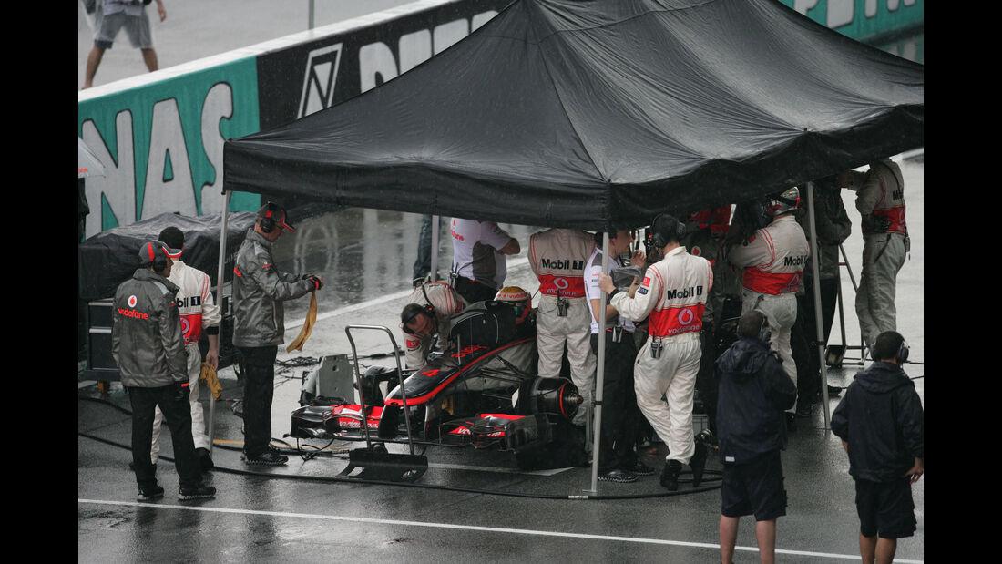 Lewis Hamilton - McLaren -  GP Malaysia 2012