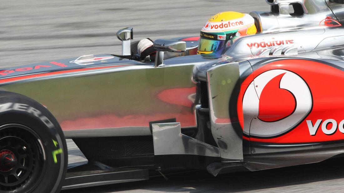Lewis Hamilton - McLaren - GP Malaysia - 24. März 2012