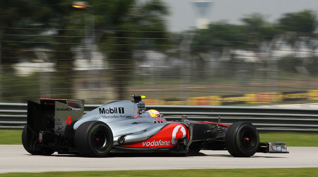 Lewis Hamilton - McLaren - GP Malaysia - Training - 23. März 2012