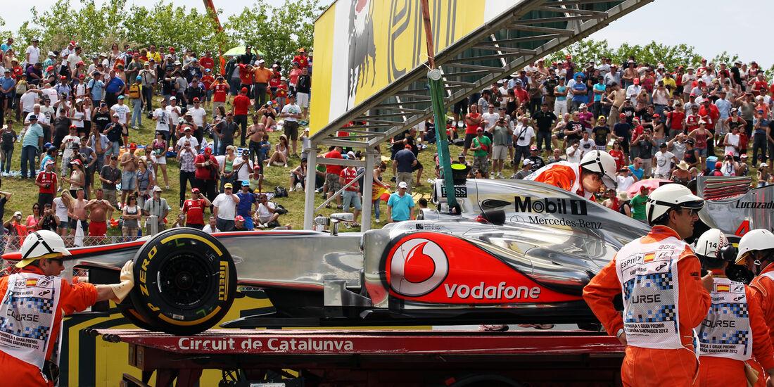Lewis Hamilton - McLaren - GP Spanien - 12. Mai 2012