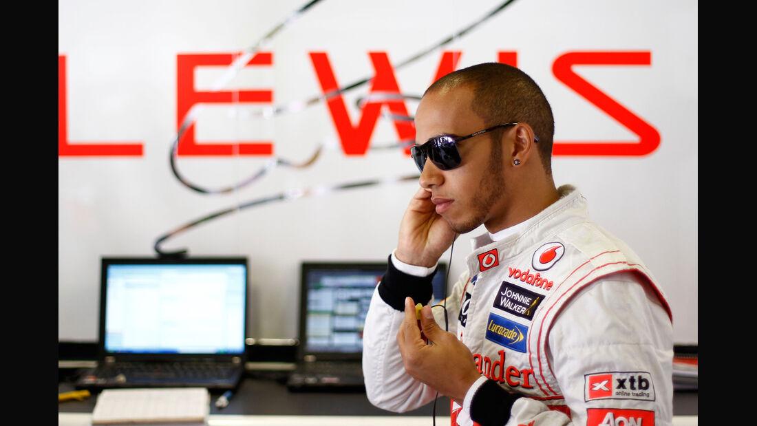 Lewis Hamilton McLaren GP Spanien 2012