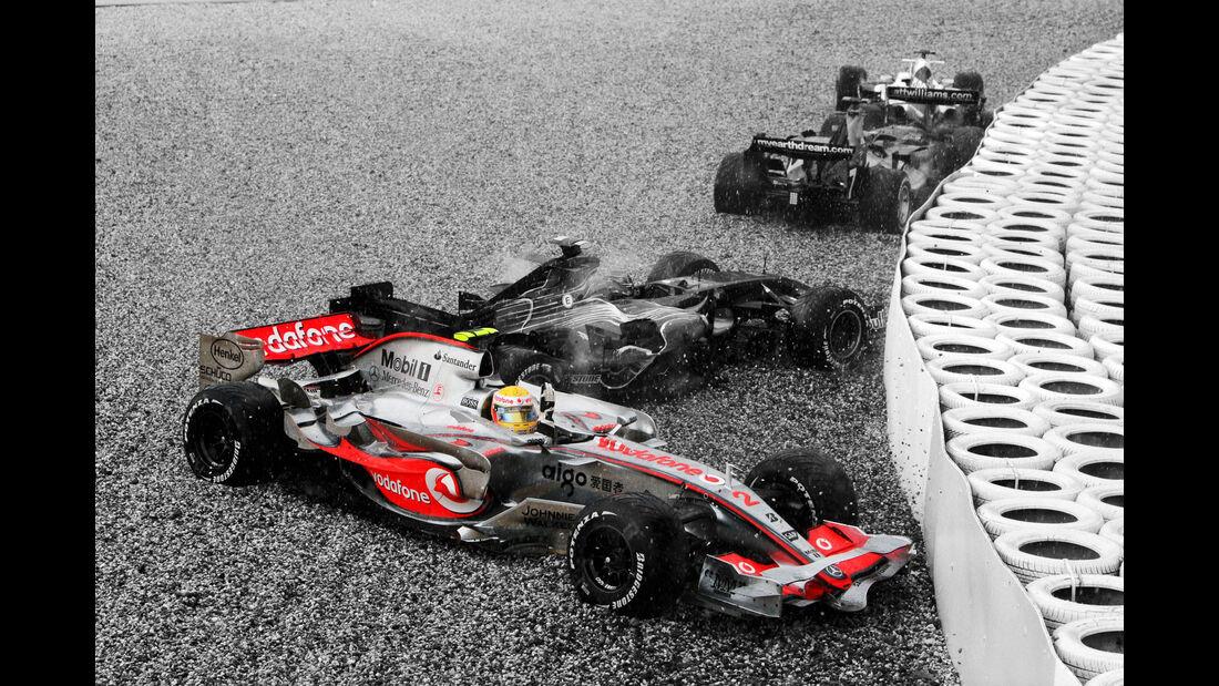 Lewis Hamilton - McLaren MP4/22 - Nürburgring 2007