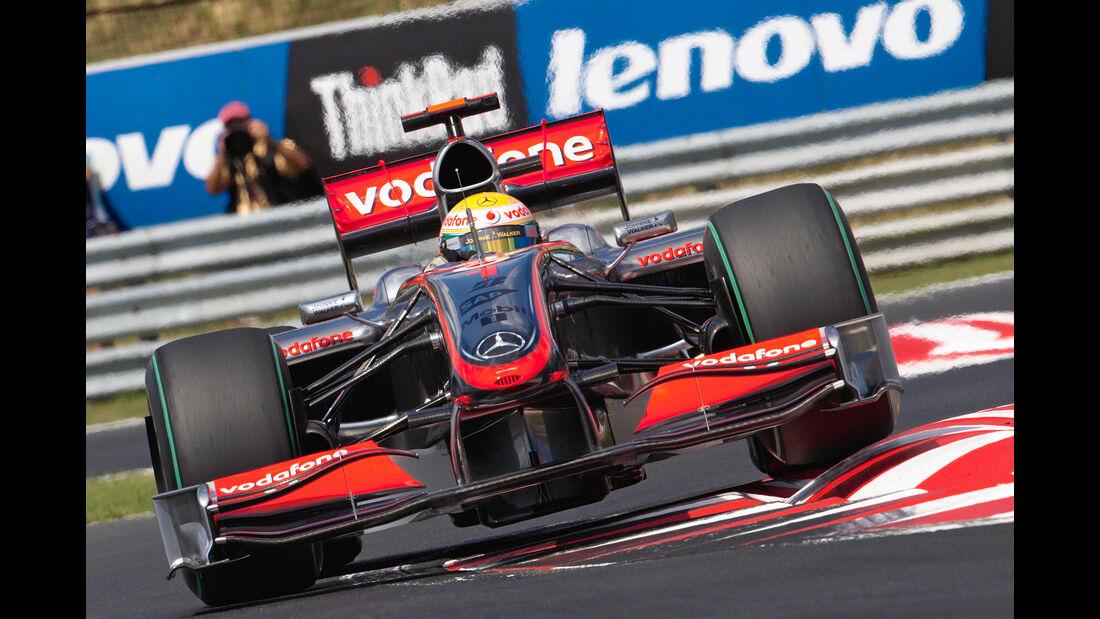 Lewis Hamilton - McLaren MP4/24 - GP Ungarn 2009