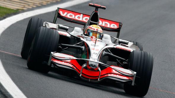 Lewis Hamilton - McLaren-Mercedes MP4-23 - GP Brasilien 2008