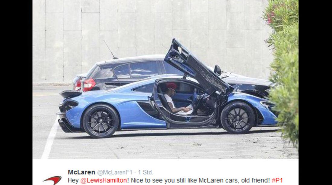 Lewis Hamilton - McLaren P1 - 2015